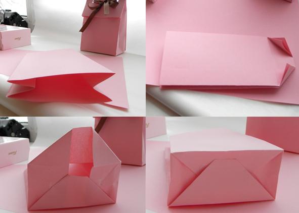 Бумажный пакет для подарка своими руками